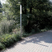 contemporary bollard light for public spaces POLAIRY REGENT