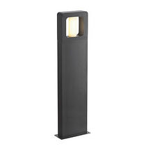 contemporary bollard light for public spaces BACCO 90  SLV BY DECLIC