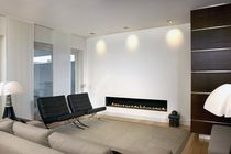 contemporary built-in fireplace (gas closed hearth) AR 008 BLOCH DESIGN
