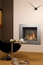 contemporary built-in fireplace (gas closed hearth) VENTO 60 Barbas