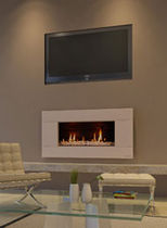 contemporary built-in fireplace (gas closed hearth) ST SERIES Escea Ltd