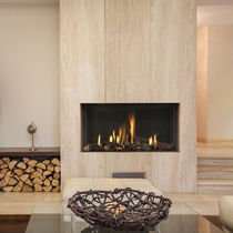 contemporary built-in fireplace (gas closed hearth) Modore 95 Element4 B.V.