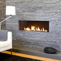 contemporary built-in fireplace (gas closed hearth, balanced flue) Modore 140 Element4 B.V.