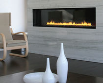 contemporary built-in fireplace (gas closed hearth) 6FT SPARK modern fires