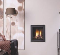 contemporary built-in fireplace (gas closed hearth) INTIMO ThermoCet BV