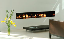 contemporary built-in fireplace (gas open hearth) LINEAR BURNER  SPARK modern fires