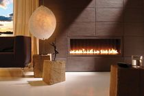 contemporary built-in fireplace (gas open hearth) DANCING FLAMES 120-35 Kal-fire