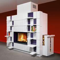contemporary built-in gas stove MODULO 220 FONDIS