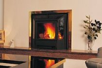 contemporary built-in wood-burning stove 3073DP DON-BAR