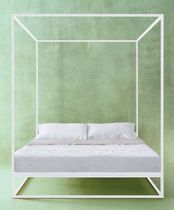 contemporary canopy double bed ASHA XAM PASSION DESIGN ClassicMobil