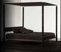 contemporary canopy double bed NERONE E NERONE AUREO by P.Caliari Bernini