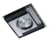 contemporary ceiling lamp (halogen spotlight, glass) LUXOR Cristalrecord