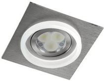 contemporary ceiling lamp (LED spotlight, aluminium) ARET2 Cristalrecord