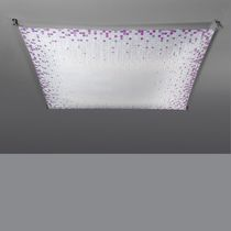 contemporary ceiling lamp (fabric) VEROCA PRINT by Miguel Àngel Ciganda B.LUX
