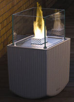 contemporary central fireplace (bioethanol open hearth) NICE CUBE  Decoflame