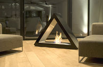 contemporary central fireplace (bioethanol open hearth, freestanding) MONTBLANC direct cheminée