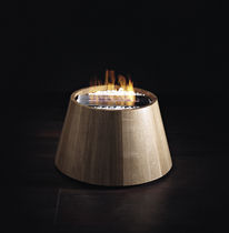 contemporary central fireplace (bioethanol open hearth, freestanding) EQUO BRANDONI