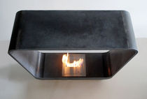 contemporary central fireplace (bioethanol open hearth, freestanding) MOON  GALERIE TAPORO