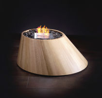 contemporary central fireplace (bioethanol open hearth, freestanding) CONE BRANDONI