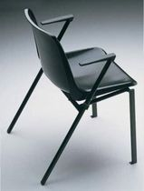 contemporary chair with armrests BERLIN AMAT - 3