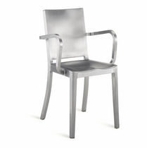 contemporary chair with armrests HUDSON: HUD-A by Philippe Starck emeco