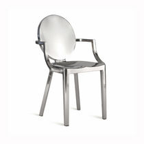 contemporary chair with armrests KONG-A by Philippe Starck emeco
