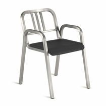 contemporary chair with armrests NINE-O™: NIN0-OAP emeco