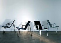 contemporary chair with armrests by Andreas Christen  Lehni
