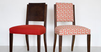 contemporary chair in certified wood (FSC-certified) NORMANDIE-UPHOLSTERED by Terence Conran BENCHMARK