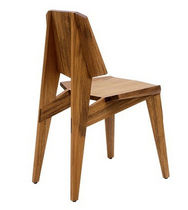 contemporary chair in certified wood (FSC-certified) SHANGHAI INCH FURNITURE