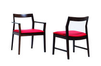contemporary chair with armrests  by Marc Krusin Knoll international