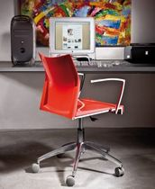 contemporary chair with casters KALEIDO HOME OFFICE QuattroQuarti