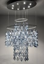 contemporary chandelier PRISM  Studio Bel Vetro