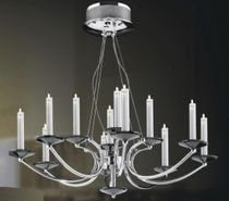 contemporary chandelier CANDLE 12 UNITED LIGHTS