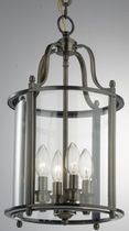 contemporary chandelier (brass) LANTERN FRAME 4AB UNITED LIGHTS
