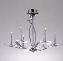 contemporary chandelier (metal) TWIST Illuminati Lighting srl
