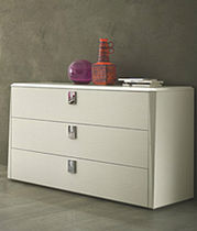 contemporary chest of drawers PRISMA  e