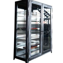 contemporary china cabinet STEEL LOUIS  metafor-design.com