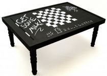 contemporary coffee table CHALK BOARD Duffy London