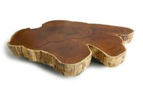contemporary coffee table in reclaimed wood PAW PRINT Rotsen Furniture
