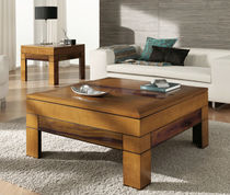 contemporary coffee table in solid wood 580 ALCOMOBEL S.L.