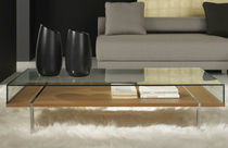 contemporary coffee table with storage LUGANO BERTO SALOTTI