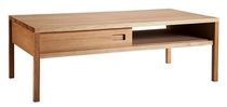 contemporary coffee table in solid wood DALIDA Coco-Mat