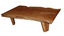 contemporary coffee table in solid wood CTL-10 Indo Trading Premium