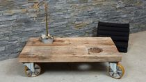 contemporary coffee table with casters BLOCK THORS DESIGN