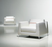 contemporary commercial armchair CALIBRA by Claudia   Harry Washington BERNHARD design