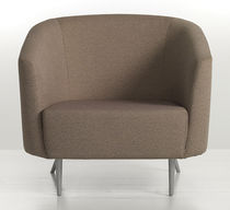 contemporary commercial armchair INMAN PARK by Eric Chan Geiger