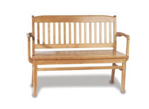 contemporary commercial bench with armrests LHBD42 BRETFORD