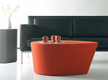contemporary commercial coffee table SOFT LEAF  nurture