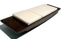 contemporary commercial leather bench NAUTILUS Schoenhuber Franchi